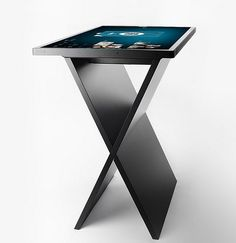 X-table multitouch bar table