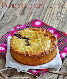 Pourquoi pas .... ??: Gâteaux Basque à la Confiture de Cerises