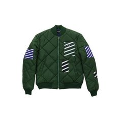 Designer Clothes, Shoes & Bags for Women Fred Perry Jacket, Outerwear Jackets, Bomber Jackets, Green Bomber Jacket, Diamond Quilt, Quilted Jacket, Jacket Style, Got7, Swag