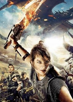 Milla Jovovich, Monster Hunter, Movie Posters, Movies, Art, Art Background, Films, Film Poster, Kunst
