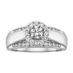 1 ct. tw. Diamond Engagement Ring#FredMeyerJewelers and #GiftsThatDelight