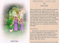 Today's Atlantis Card – Diana Cooper Spiritual Life, Spiritual Health, Diana Cooper, Angel Guide, Daily Tarot, Doreen Virtue, Divine Light, Angel Cards, Bible Knowledge