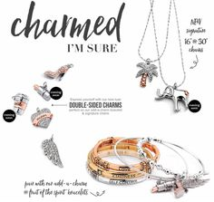 Our luxe double-sided High Heel, Palm Tree, Angel Wing, and Mom charms have just arrived! Create a charming combination of your own with these new additions to our charm collection (with more to be added soon!) SHOP: bit.ly/1fBloqS #justjewelry #jewelry #fashionaccessories #charms #new