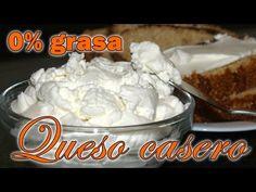 Queso casero Dukan 0% grasa - Fase Ataque - home made cheese 0% fat
