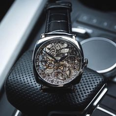 Skeleton Watches, Leather, Accessories