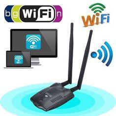 300Mbps USB Wireless WIFI Network LAN Card Adapter 802.11 n/g/b 1000mW
