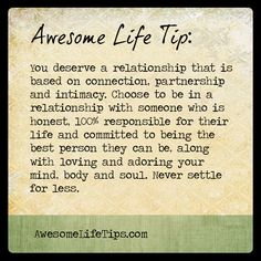 Choose to be in a Relationship With Someone Committed to…