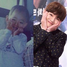 Some things never change but dreams do came true from a lil baby to a talented singer & actor, but still the same cutie!  Are you ready for v's first drama? For a moment i was excited to watch hwarang but i'm not ready to meet sad and hurt hansung. Help me survive  - - Admin yaya @bts.bighitofcial
