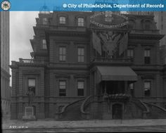PhillyHistory.org - Union League.  Elevation 1st and 2nd floor.  Sout