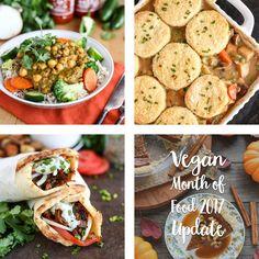Vegan Month of Food 2017 Update - ilovevegan.com