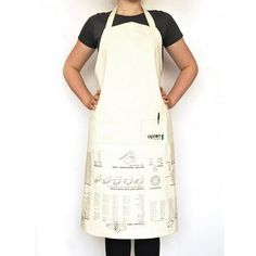 love that it's upside down. too clever. ++ Cooking Guide Apron
