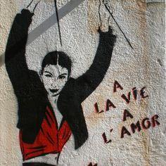 Miss.Tic | Morceaux choisis Street Art, Satire, New Art, Originals, Silhouette, Deco, Portrait, Halloween, Photos