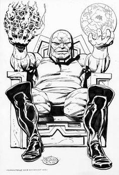 Darkseid by John Byrne