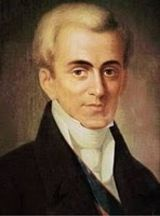 Ioannis Kapodistrias - First Greek President after the 1821 revolution