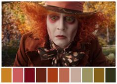 Color Palettes from Famous Movies Show How to Set the Mood of a Film. The director sets the tone and mood of a film in pre-production stage. Famous Movie Scenes, Famous Movies, Movie Color Palette, Colour Pallette, Moonrise Kingdom, Color In Film, Cinema Colours, Estilo Disney, Through The Looking Glass