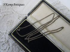 Real silver chain necklace