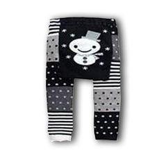 Snowy Leggings/Tights from Adam & Eve Baby Wear - $9.85