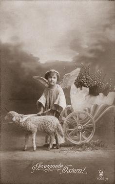 Antique Easter card