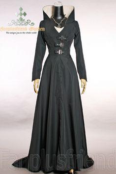 fanplusfriend - Elegant Dark Sorceress Micro Suede Long Gown, $155.53 (http://www.fanplusfriend.com/elegant-dark-sorceress-micro-suede-long-gown/)