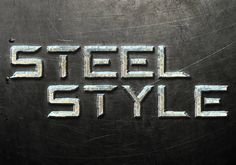 Quick Tip: Create a Steel Text Effect in Photoshop Transformer font effect?