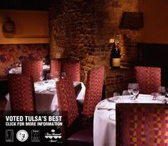 Voted Tulsa's Best....  Polo Grill for your wedding.