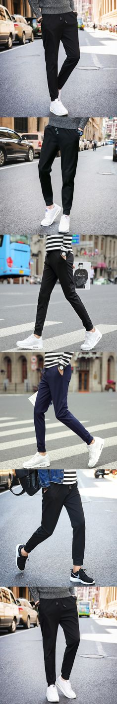 2017 Srping&Autumn Men's  Casual Sporting Men Pants  Plus Size 5XL Trousers Fear Of God Drawstring Outwear Harem Cargo Pants