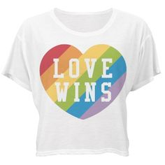 Love Wins In The End | Love wins. Always. Congratulations friends! The day has finally come. June 26th, 2015. Equality for all. Love is love. Show your support with a cute flowy shirt! #lovewins