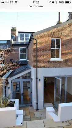 Complete renovation of semi detached house London contemporary-exterior – Home decoration ideas and garde ideas Side Return Extension, Rear Extension, Extension Ideas, House Extension Design, Glass Extension, Victorian Terrace, Victorian Homes, Style At Home, Casa Loft