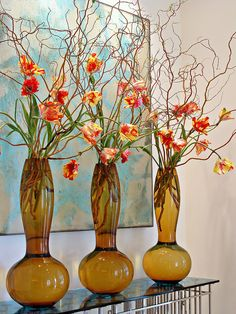 Ken Marten----stunning and different arrangement for the house, office, anywhere. It says that Spring is here.