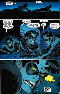 Nightwing teasing Robin XD