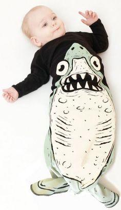 Electrik Kids- Shark Sleepsack #SashaHawaii the cutest little sleepers.