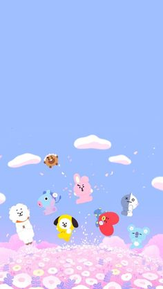 bt21 wallpaper    bt21 wallpaper    #bt21 #wallpaper Soft Wallpaper, Kawaii Wallpaper, Wallpaper Iphone Cute, Disney Wallpaper, Bts Backgrounds, Character Wallpaper, Bts Aesthetic Pictures, Bts Drawings, Bts Chibi