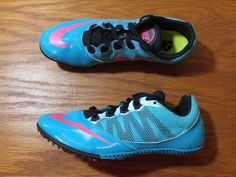 cheaper 65aea 196a2 NEW Nike Zoom Rival S 7 Track   Field Sprint Spikes Women s 7.5 Shoes 616313  306