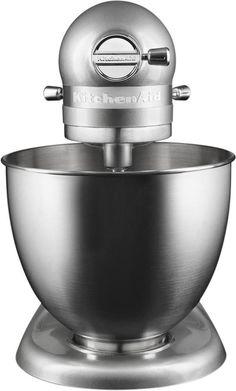 KitchenAid - Artisan Mini Tilt-Head Stand Mixer - Contour silver