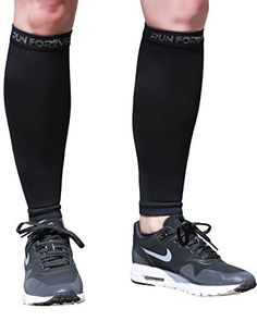 Calf Compression Sleeves - Leg Compression Socks for Shin Splint, Varicose Vein & Calf Pain Relief - Men, Women, and Runners - Calf Guard Great for Running, Cycling, Maternity, Travel (Black, Small) - http://www.exercisejoy.com/calf-compression-sleeves-leg-compression-socks-for-shin-splint-varicose-vein-calf-pain-relief-men-women-and-runners-calf-guard-great-for-running-cycling-maternity-travel-black-smal/fitness/