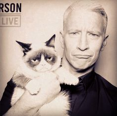 Anderson & Grumpy Cat: Best Friends Forever.
