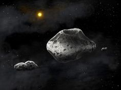 Professional and Amateur Astronomers Shed Light on Asteroid Sylvia Oct 15, 2013 by Enrico de Lazaro A team of scientists led by Dr Franck Marchis from the Carl Sagan Center of the SETI Institute teamed up with amateur astronomers to discover that the main-belt asteroid Sylvia has a complex interior thanks to the presence of two its moons – Romulus and Remus.