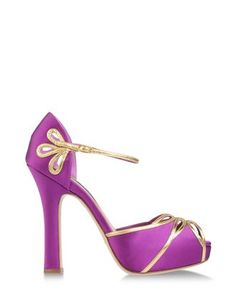 Sandalia raso oro, Ralph Lauren