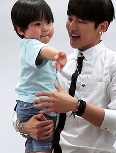 Insoo and baby