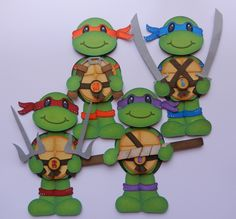"Cuddly Cute Designs ""Ninja Turtles"" DT~Bobbi"