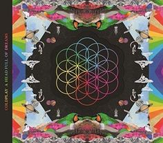 Coldplay a head full of dreams Japanese tour edition limited CD japan f / s