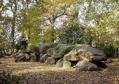Borgen - Largest dolmen in the Netherlands 22 ½ meters long and the heaviest stone weighs 23,000 kilo's.