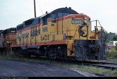 RailPictures.Net Photo: WM 6405 Chessie System EMD GP9 at Cumberland, Maryland by Bob Kise