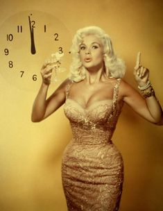 Growing up I always felt self conscious about having big hips and a little waist nothing ever felt or fit right to me but growing up I learned how to dress and have really embraced my big hips and I love them. (photo of Jayne Mansfield)