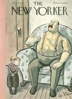 The New Yorker - Saturday, May 7, 1932 - Issue # 377 - Vol. 8 - N° 12 - Cover by : William Steig