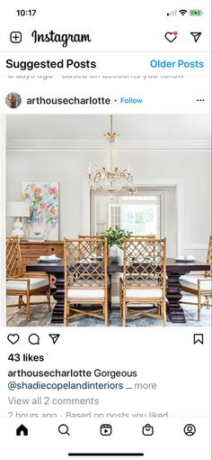 Dining Room, Chair, Furniture, Instagram, Home Decor, Decoration Home, Room Decor, Home Furnishings, Stool