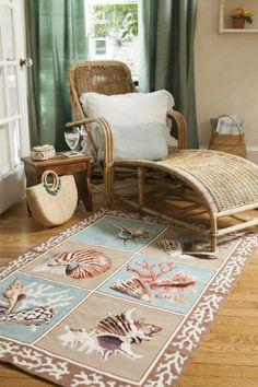 Elizabeth Bradley Shells rug