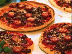 Köttfärspizza taco-style