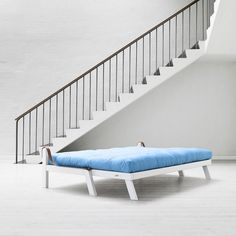 Divano Letto Poetry Bianco Azzurro by Karup