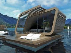 水上に建つハウスボート「IRIDE 01」   未来住まい方会議 by YADOKARI   ミニマルライフ/多拠点居住/スモールハウス/モバイルハウスから「これからの豊かさ」を考え実践する為のメディア。
